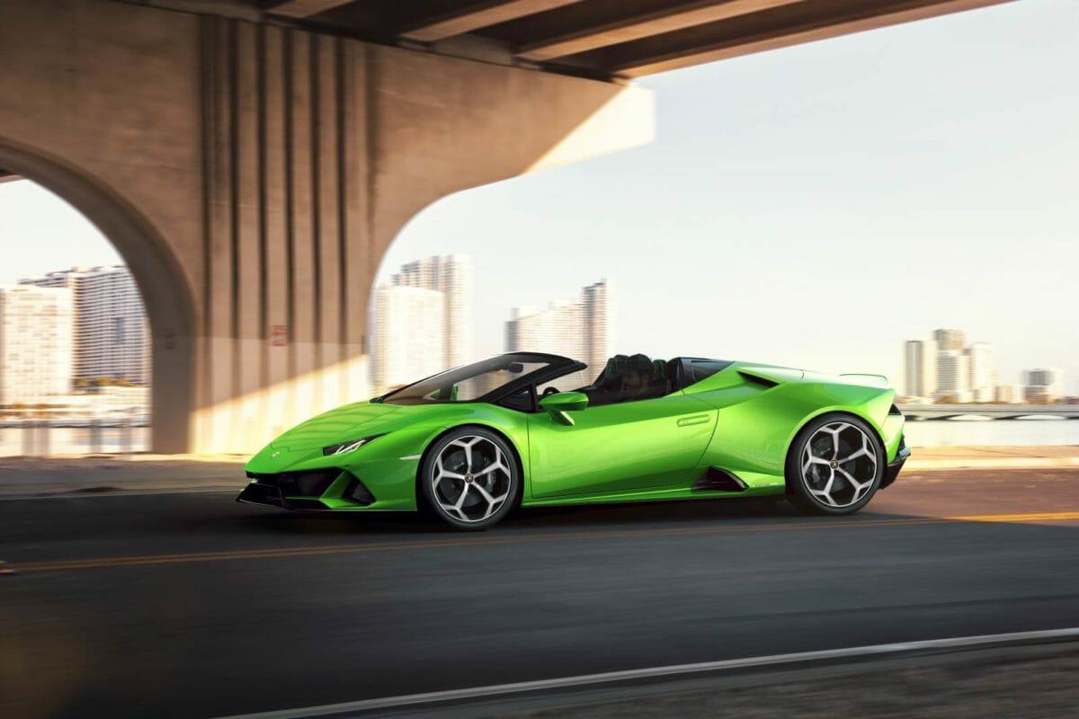 Lamborghini Huracan EVO Spyder real world