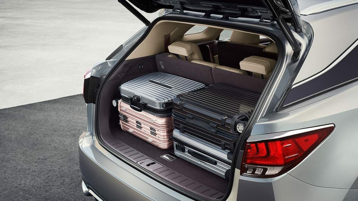 Lexus RX 450 hL boot