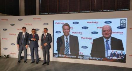 Mahinda And Ford India Partnership (1)