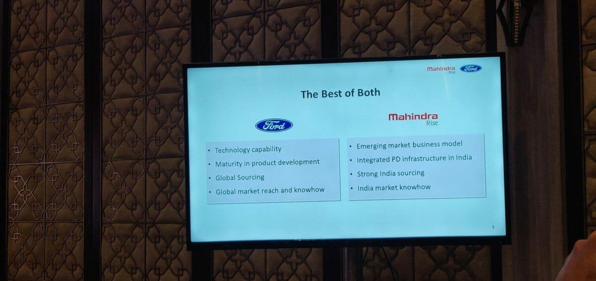 Mahinda And Ford India Partnership (3)