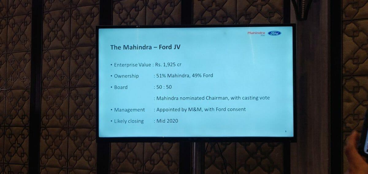Mahinda And Ford India Partnership (7)