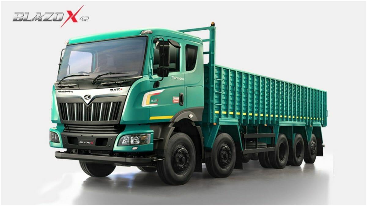 Mahindra Blazo truck range 1