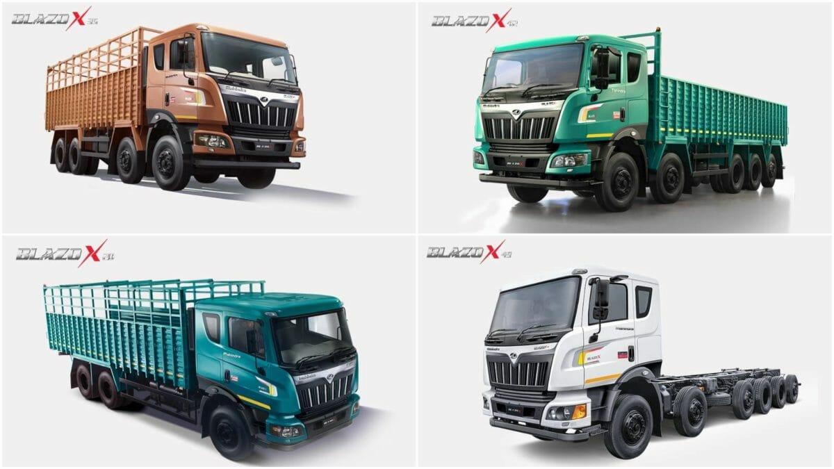 Mahindra Blazo truck range