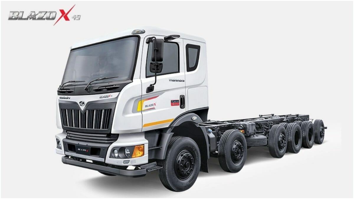 Mahindra Blazo truck range 3
