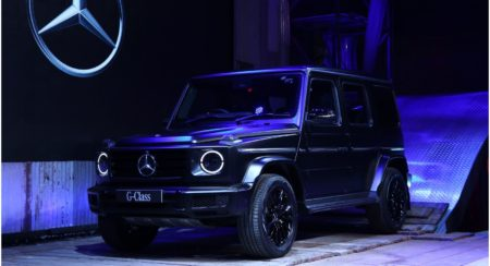 Mercedes-Benz G 350d launch event 1