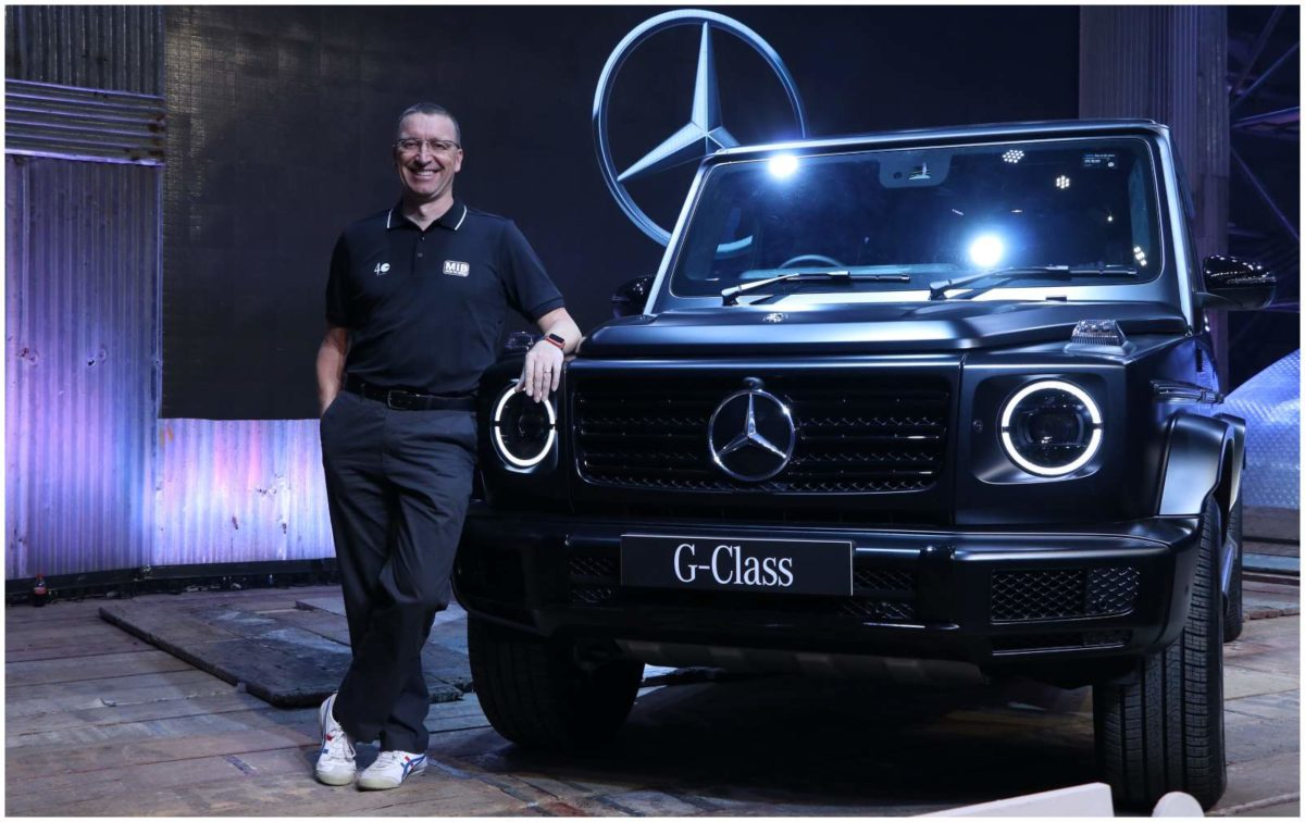 Mercedes Benz G 350d launch event 2