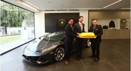 New showroom Lamborghini delhi 1