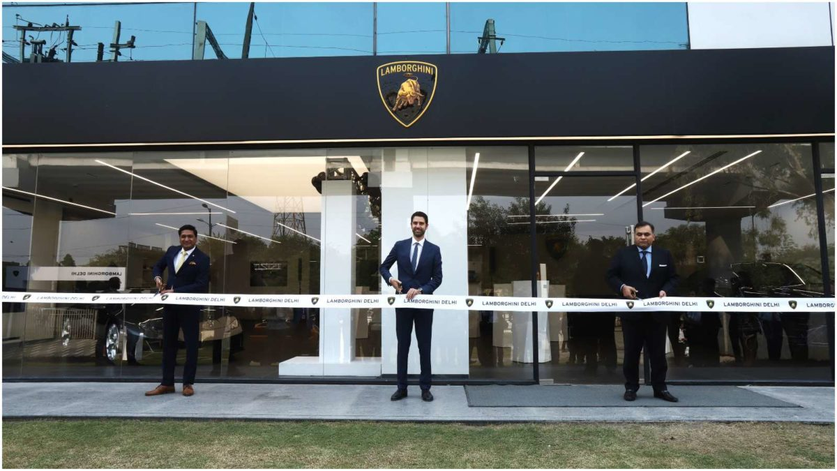 New showroom Lamborghini delhi 2
