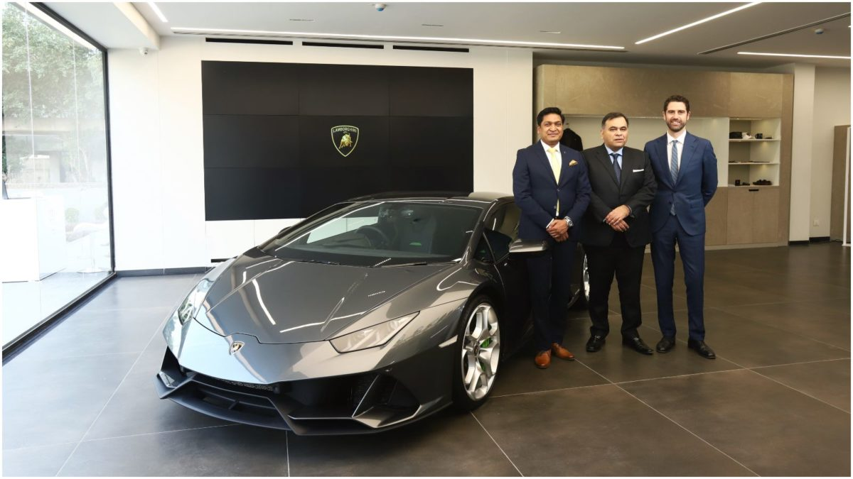 New showroom Lamborghini delhi 3