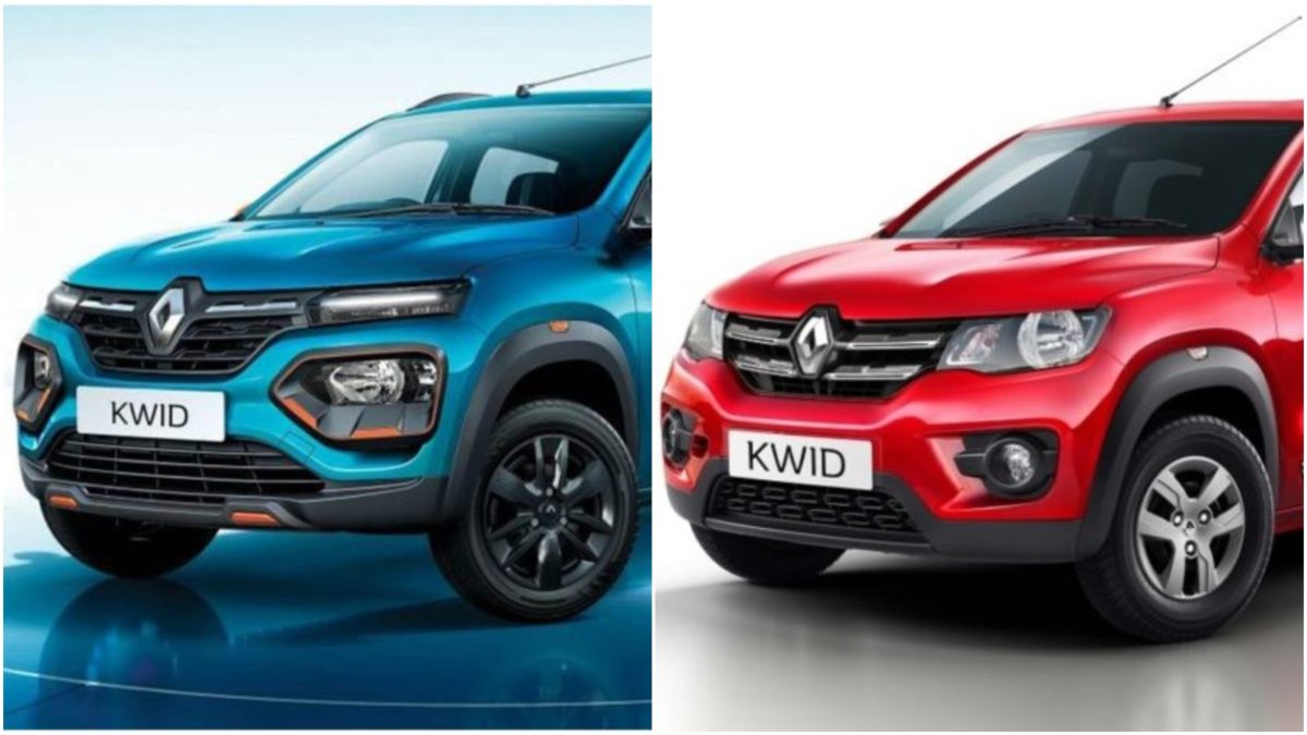 New vs Old Kwid