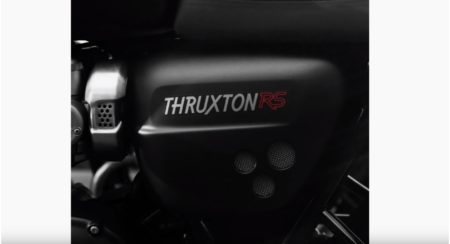 Triumph Teases The New Thruxton RS Ahead Of Its Global Unveil