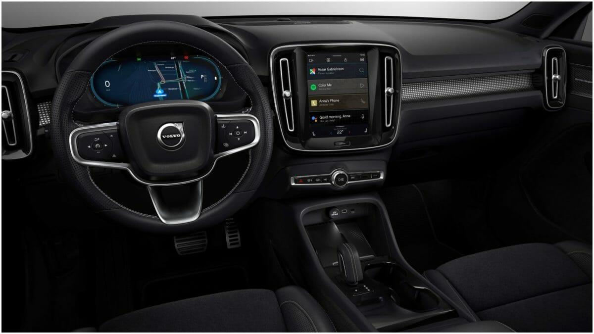 Volvo XC40 recharge interiors