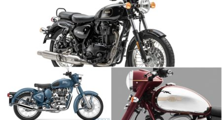 Comparison: Benelli Imperiale 400 Vs Royal Enfield Classic 350 Vs Jawa