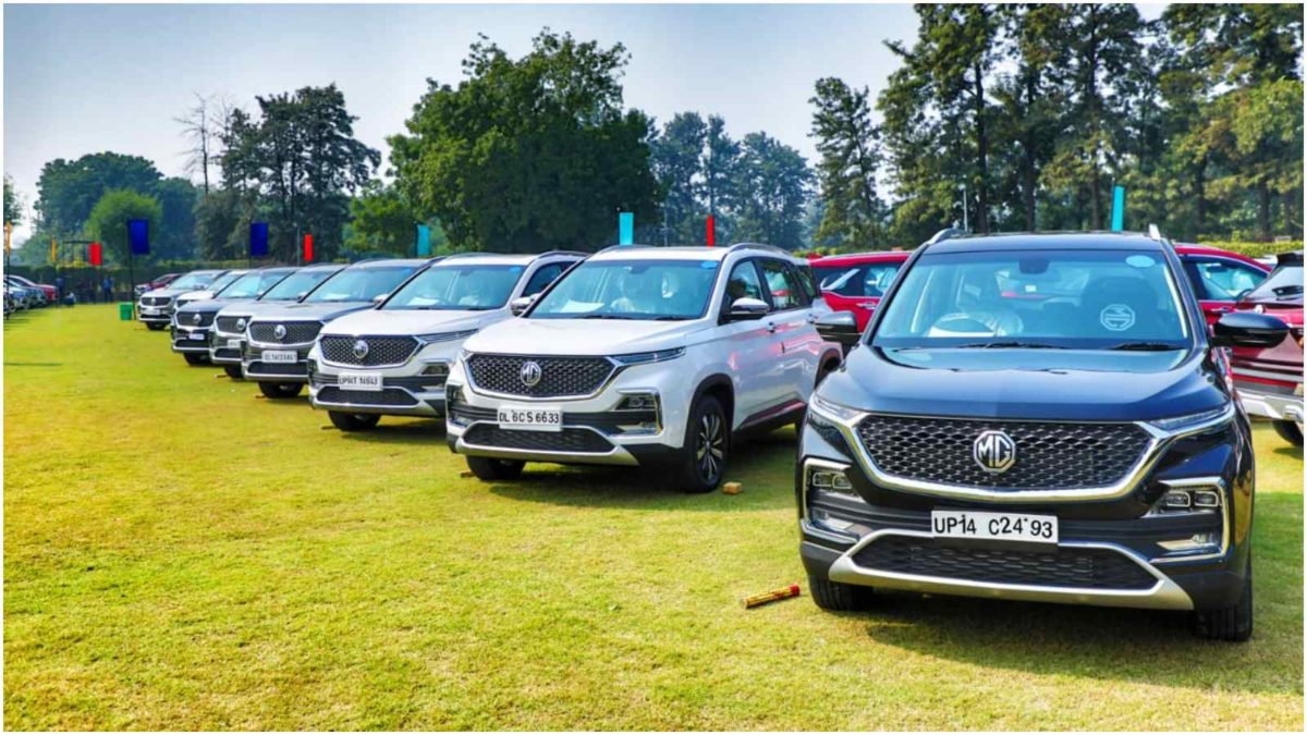 mg hector 700 units on dhanteras 2