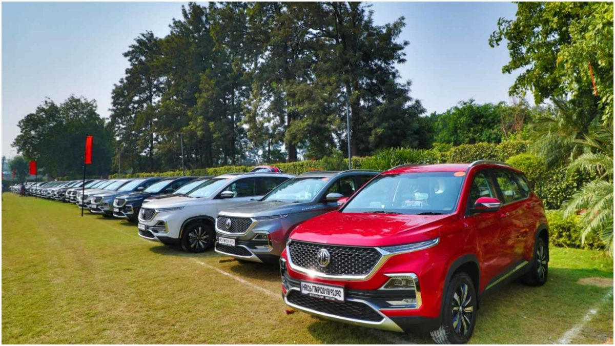 mg hector 700 units on dhanteras 3