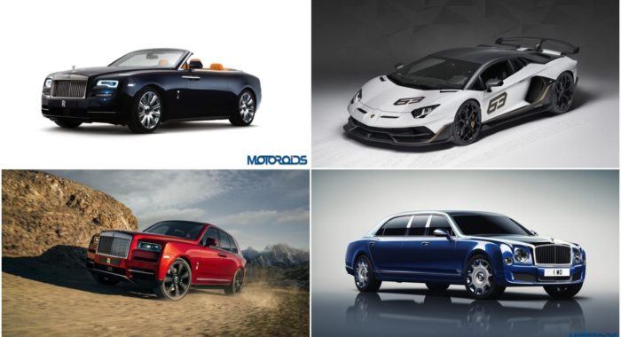World Auto Sales >> Here Is A List Of The Most Expensive And Exotic Cars Available In India | Motoroids