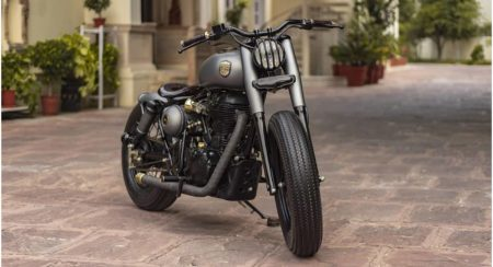 This Customized Royal Enfield Classic 500 Is Called Ranisa