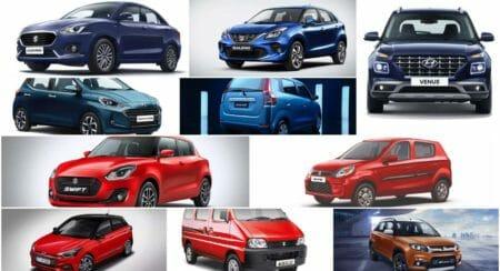 september best-selling cars