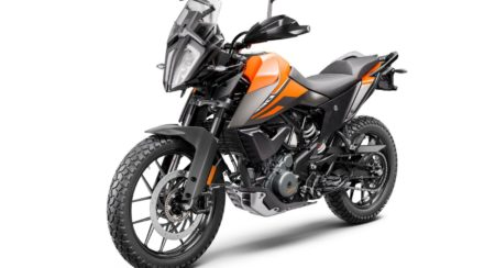 10 KTM 390 ADVENTURE MY20 front-left