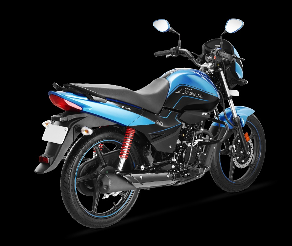 2020 Hero SPlendor BS6 rear