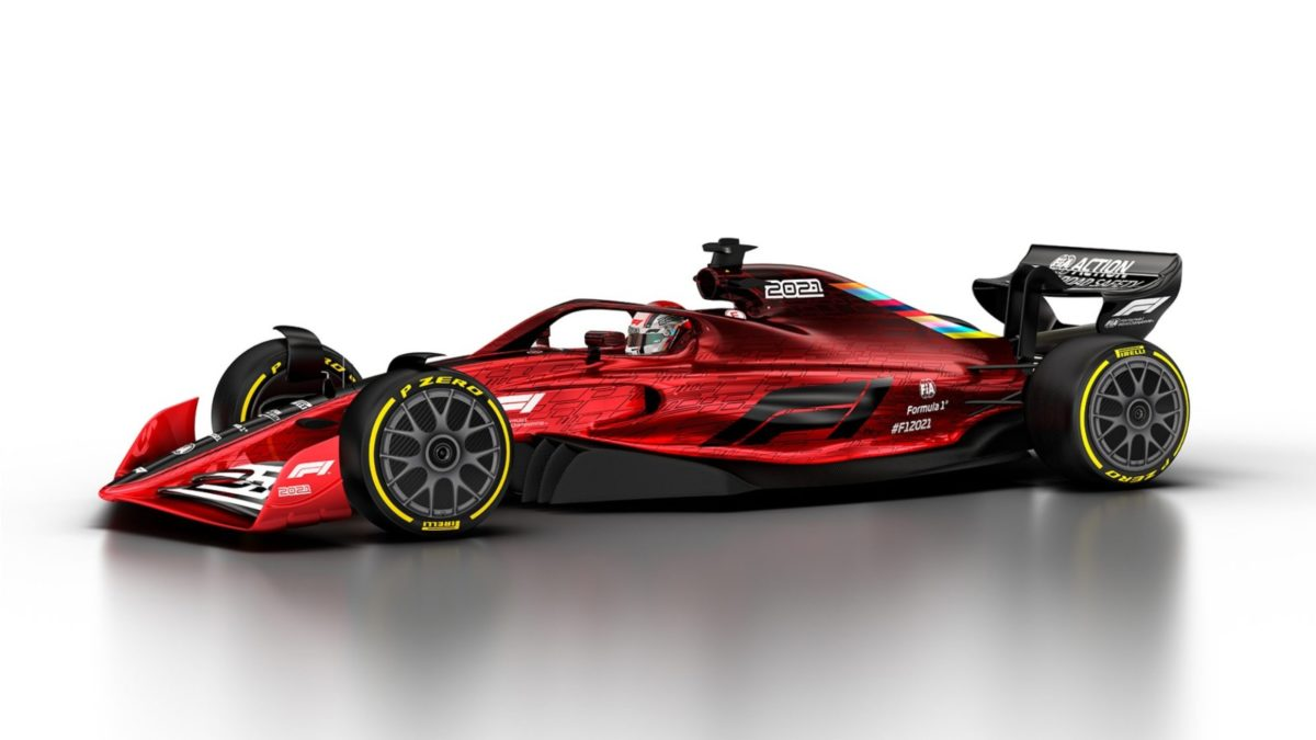 2021 F1 car 5