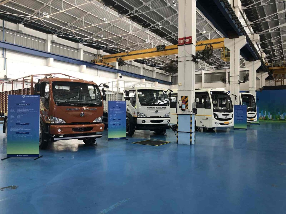 Ashok Leyland BS VI Showcase – 1