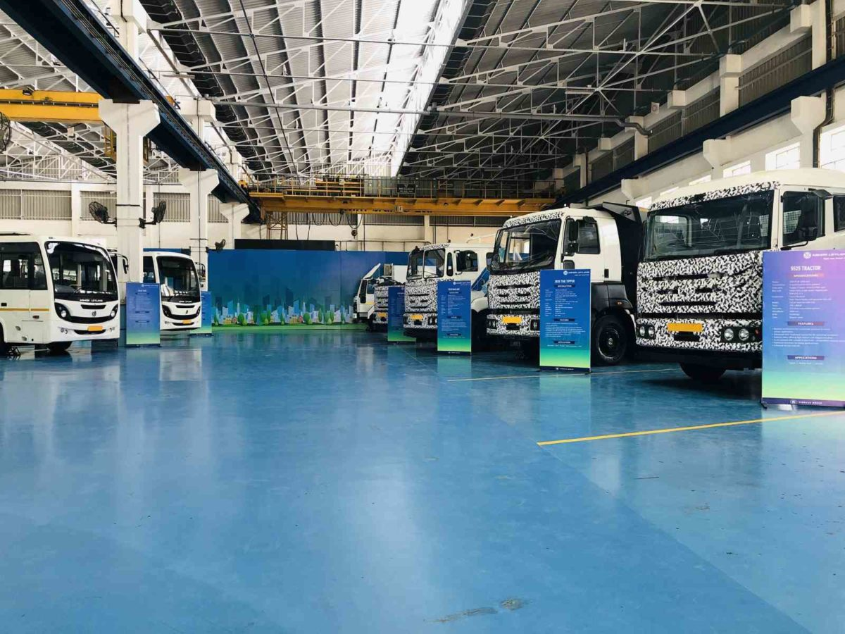 Ashok Leyland BS VI Showcase – 2
