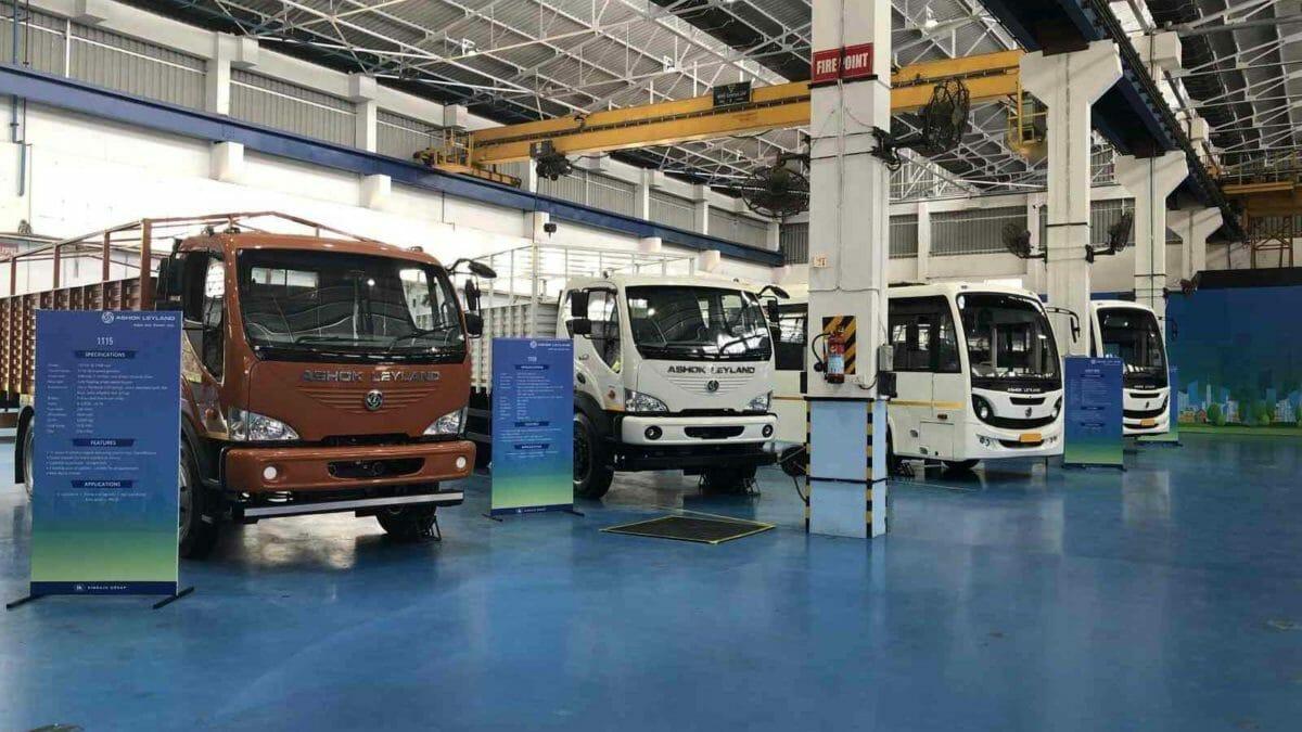 Ashok Leyland BS6 Trucks
