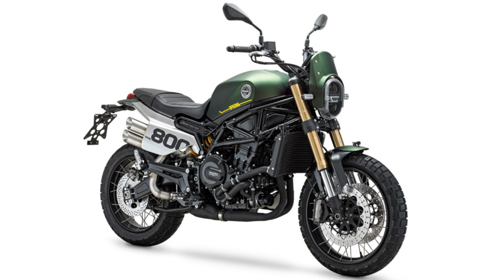Astonishing The New Benelli Leoncino 800 Gets A Trail Version Motoroids Ibusinesslaw Wood Chair Design Ideas Ibusinesslaworg