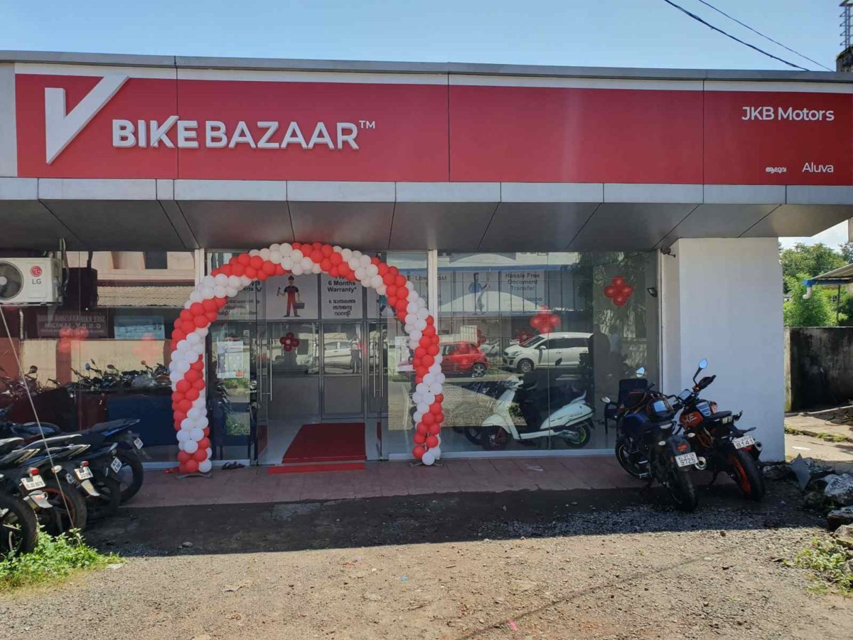 Bikebazaar pre owned two wheelers