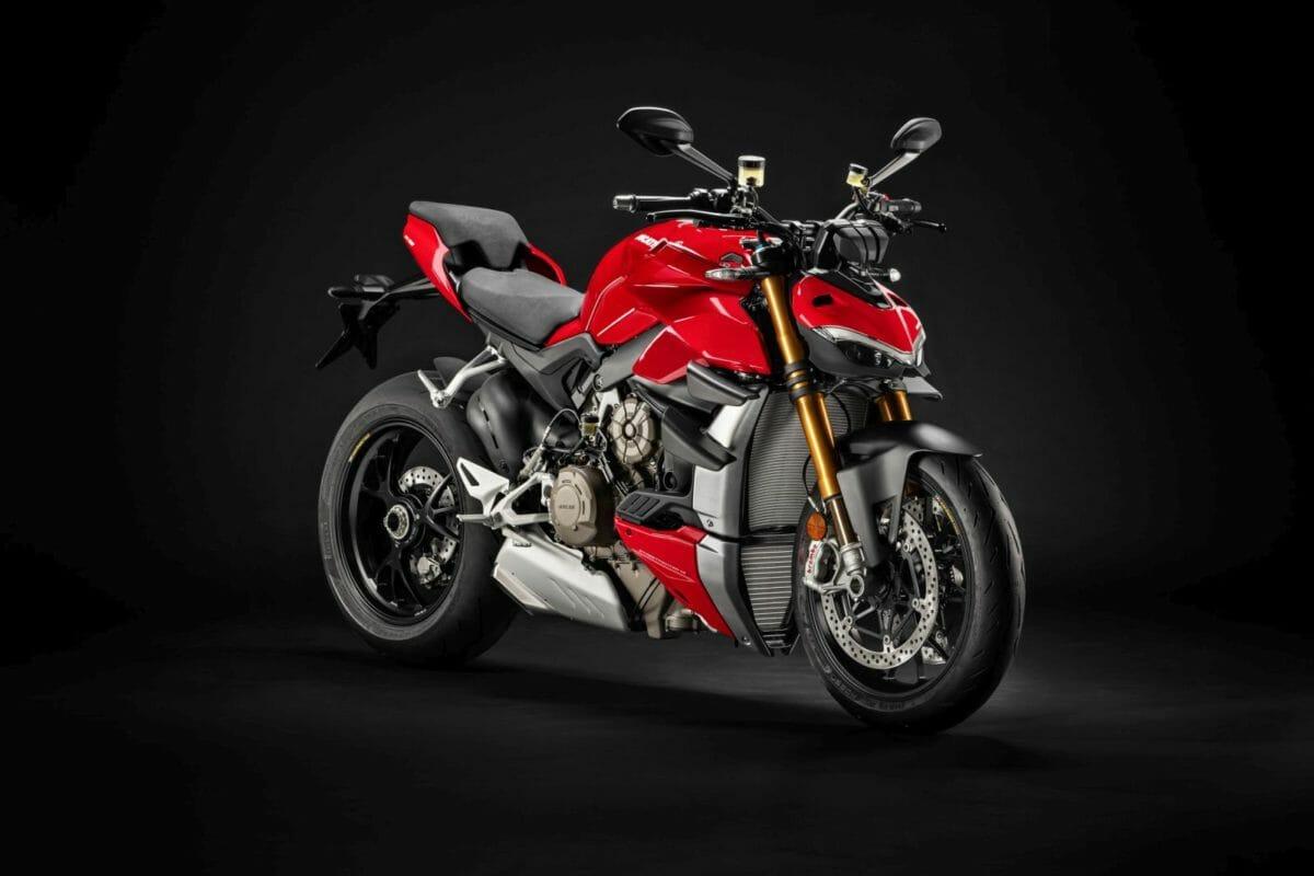 Ducati Streetfighter V4 studio
