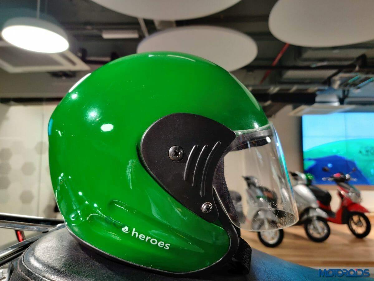 Hero Electric Code Green 03