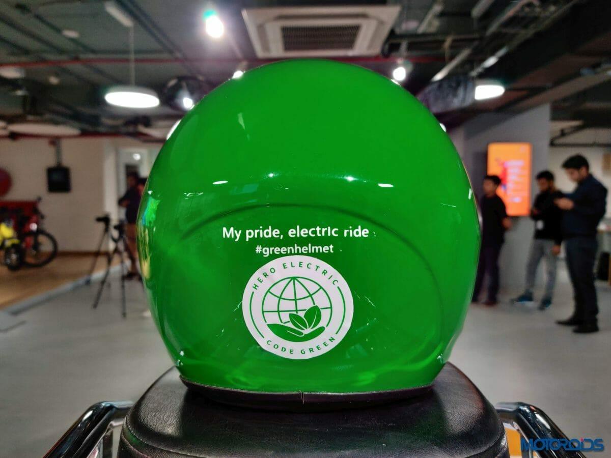 Hero Electric Code Green 04