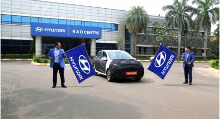 Hyundai AURA Gearing up
