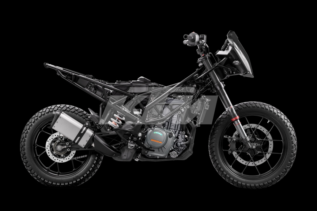 KTM Adventure 390 Teardown