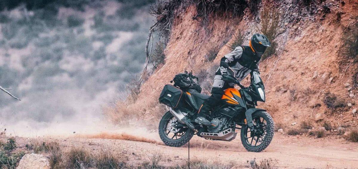 KTM Adventure 390 action
