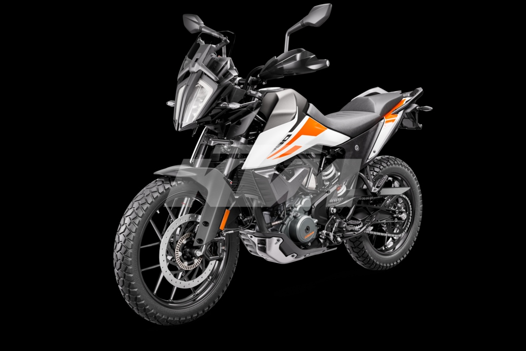 KTM Adventure 390 front left profile