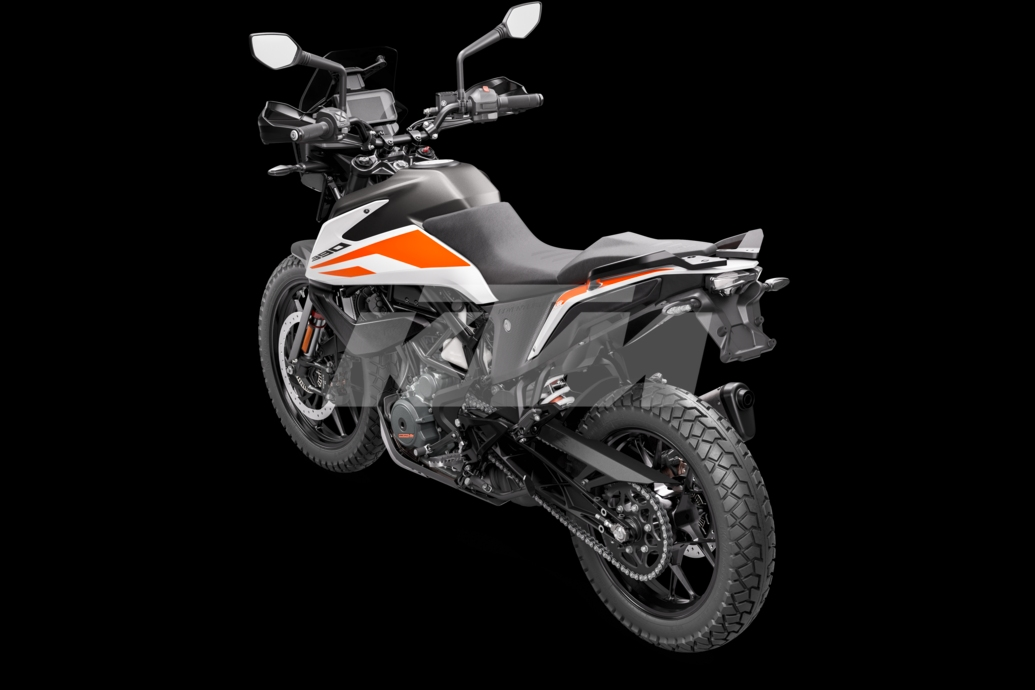 KTM Adventure 390 rear and side left