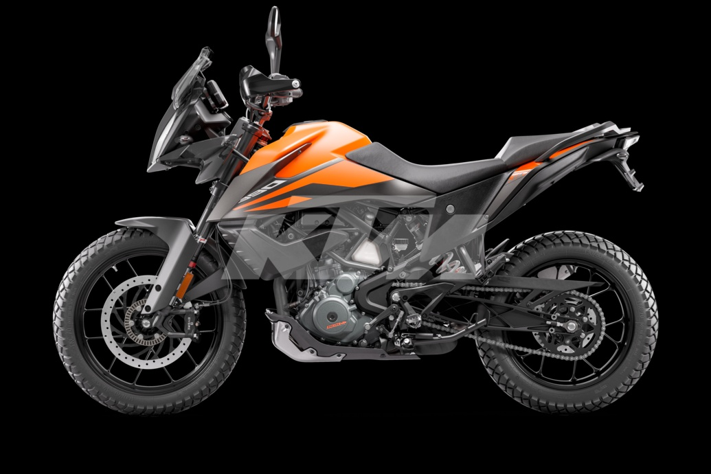 KTM Adventure 390 side right
