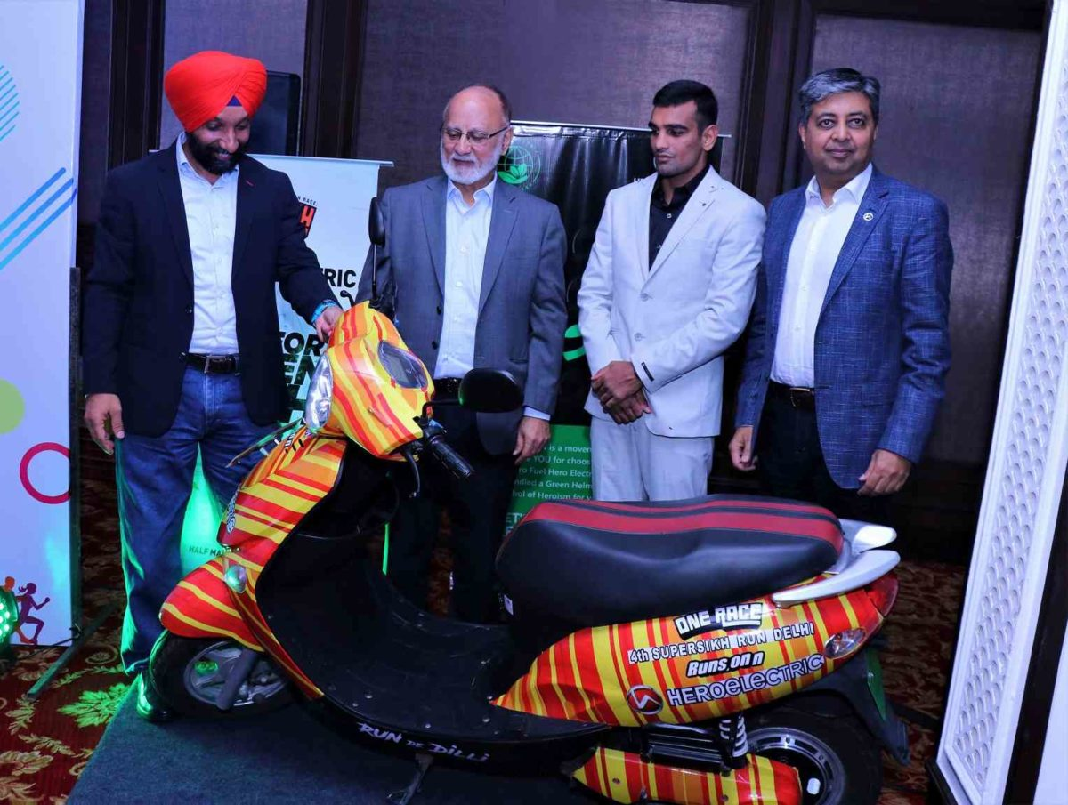(L R) Major DP Singh, Sohinder Gill, Mandeep Jangra, Naveen Munjal