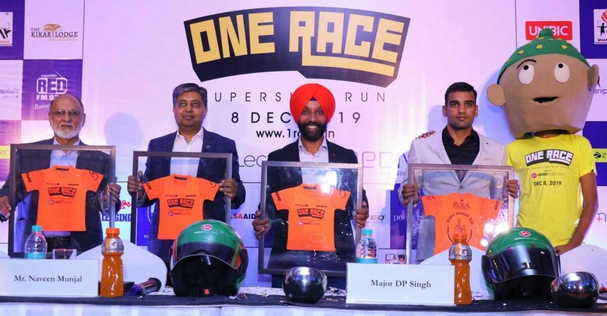 (L R) Sohinder Gill, Naveen Munjal, Major DP Singh, Mandeep Jangra
