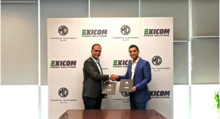 MG Motor India partners with Exicom