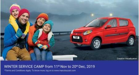 Maruti Suzuki Winter Service Camp 1
