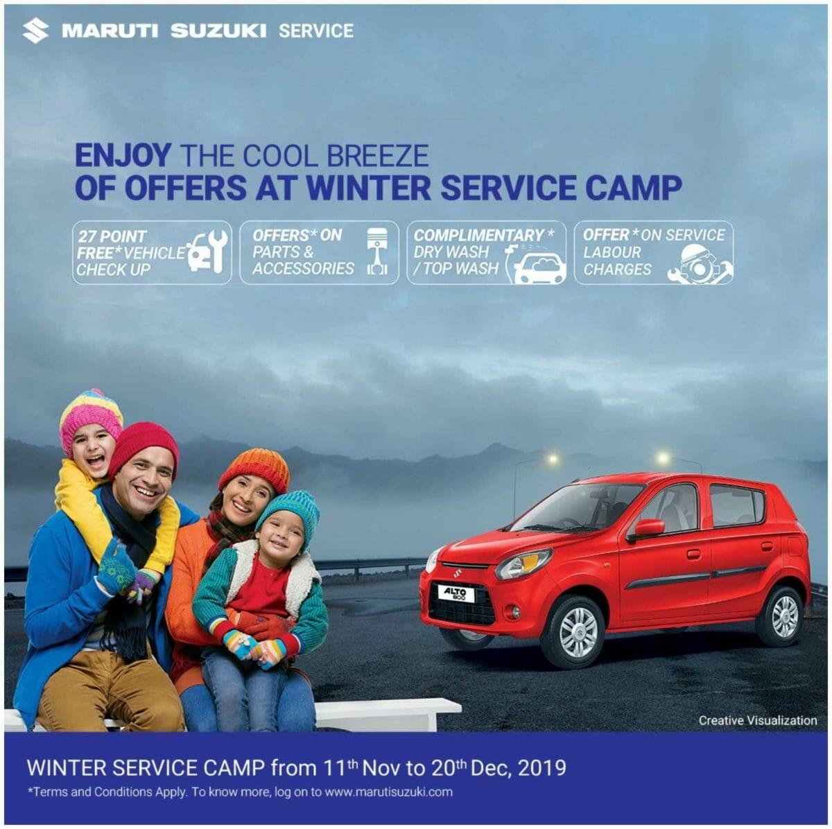Maruti Suzuki Winter Service Camp 2