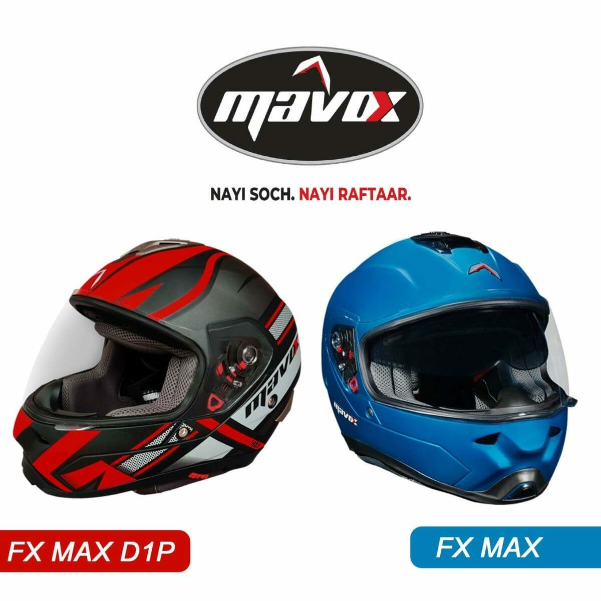 Mavox Air purifying helmets