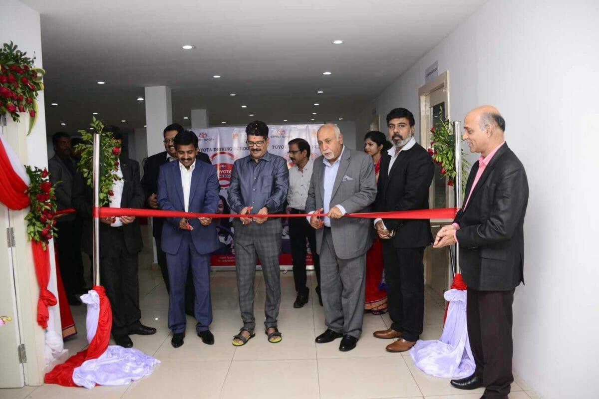 Mr. N Raja – Deputy Managing Director, TKM inaugurating Toyota Driving School at Bhubaneshwar, Odisha – 2