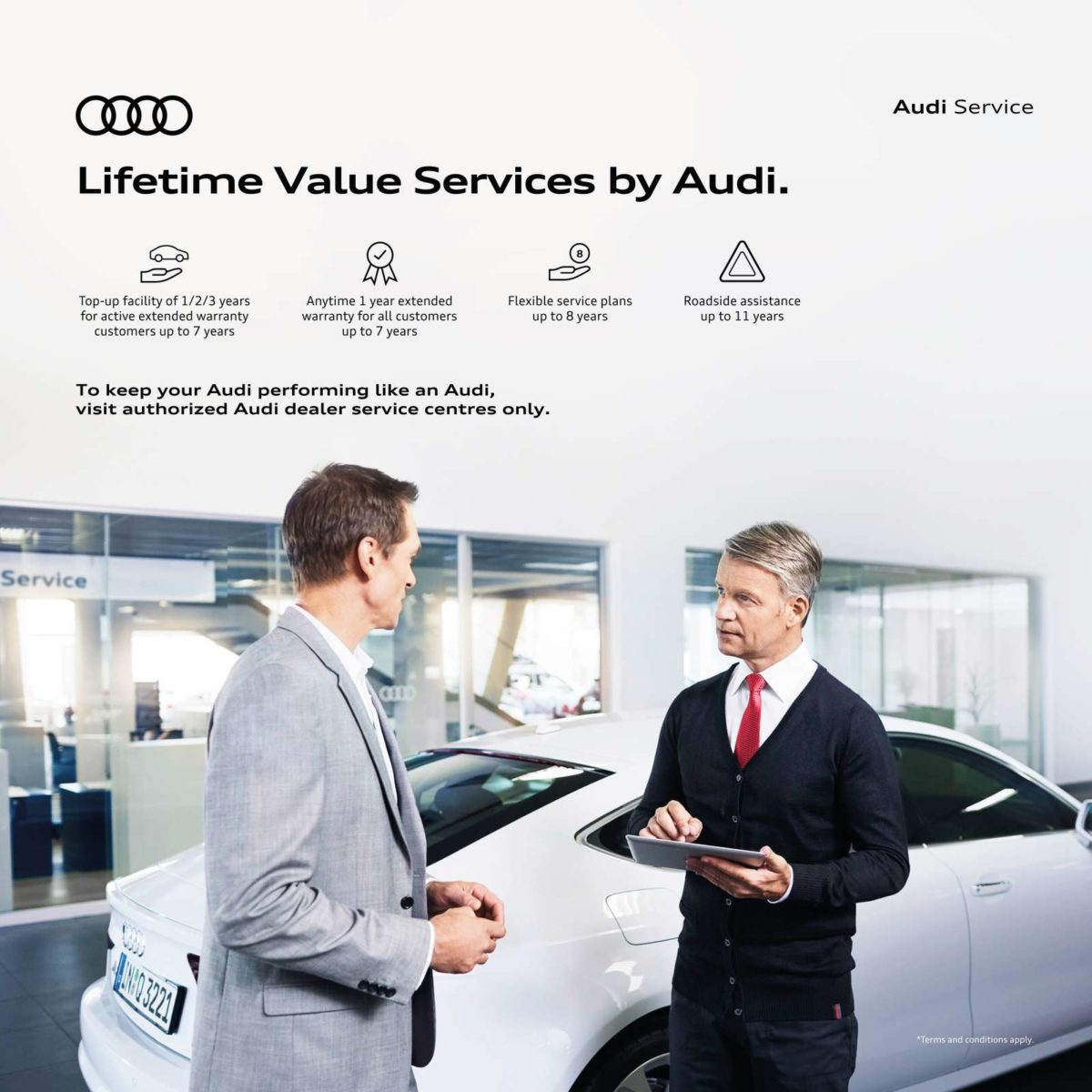 Pic_Audi India introduces 'Lifetime Value Services