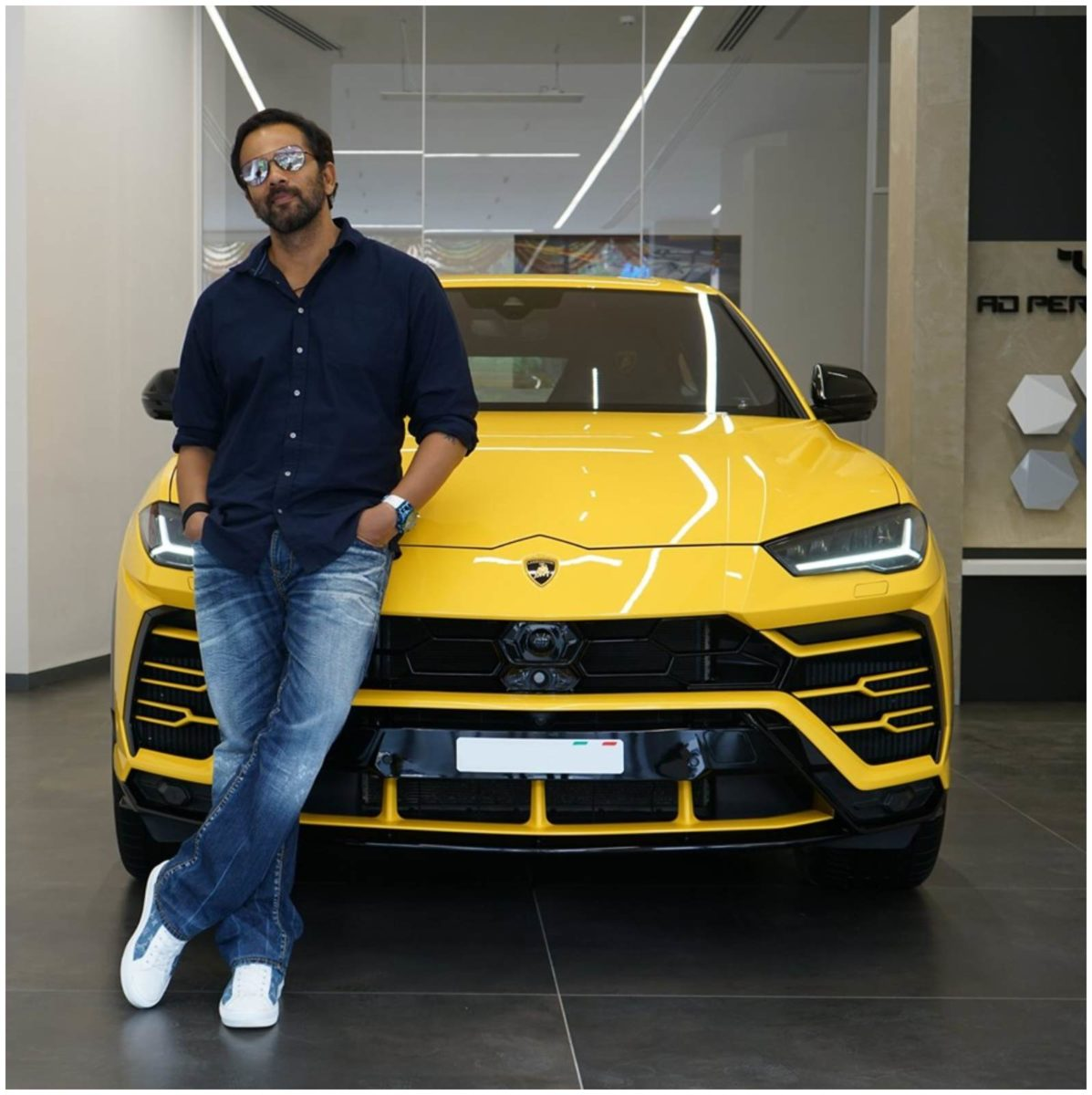 Rohit Shetty With his Lambo Urus 1