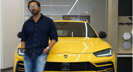 Rohit Shetty With his Lambo Urus