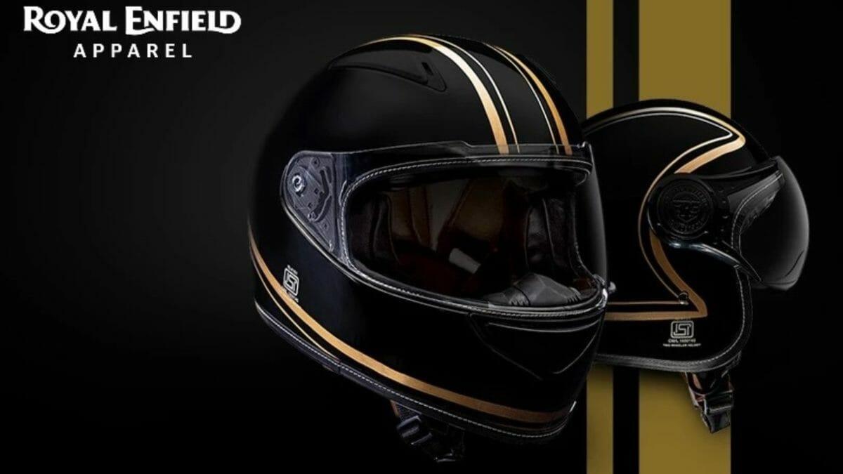 Royal Enfield Madras Stripes Helmets